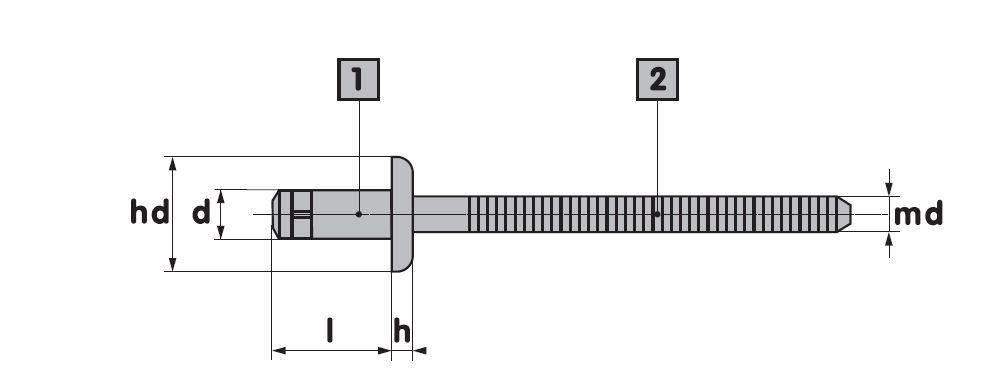 ARK-ORLOCK - Aluminium